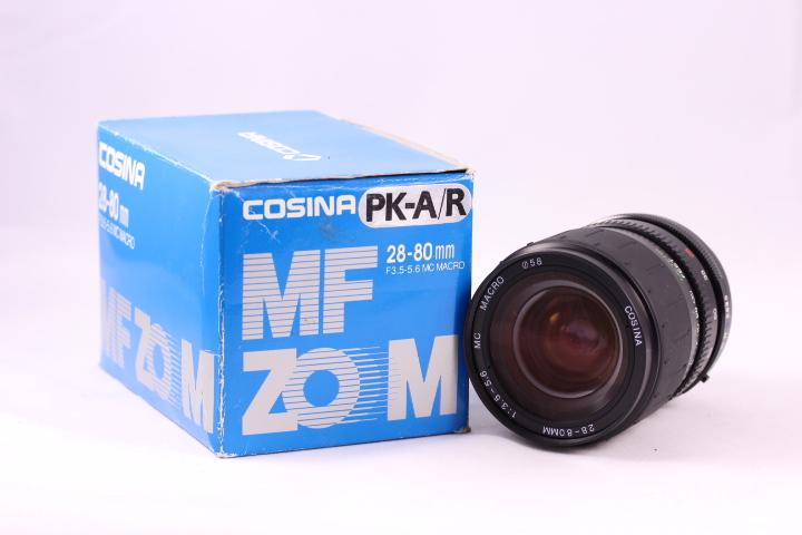 cosina 28-80mm 3,5-5,6 para PK